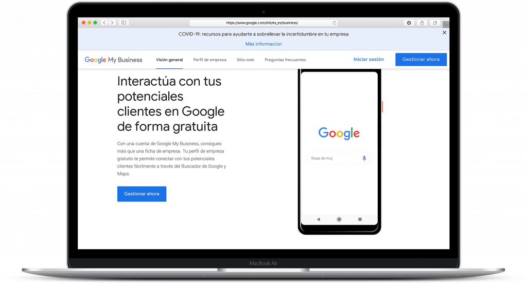 Google my business que es